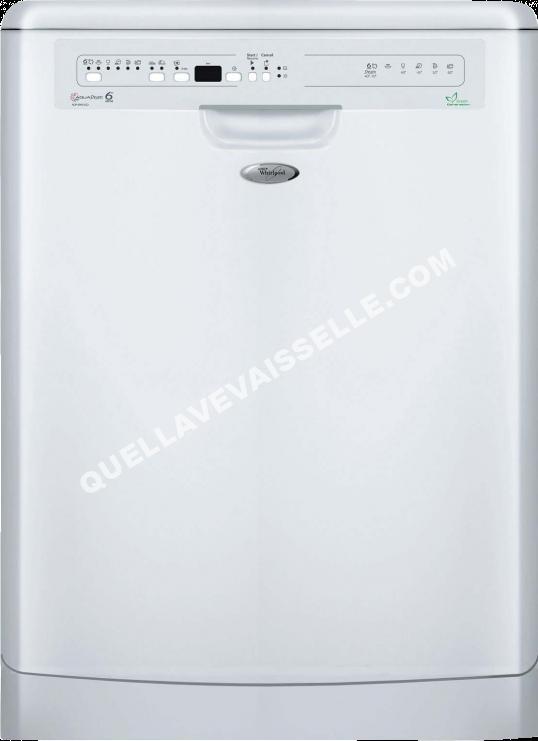 lave vaisselle whirlpool adp6993eco au meilleur prix !