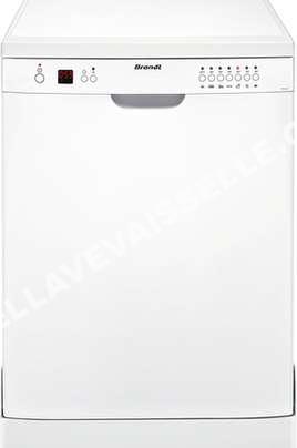lave vaisselle brandt lave vaisselle dfh 12227w au meilleur prix. Black Bedroom Furniture Sets. Home Design Ideas