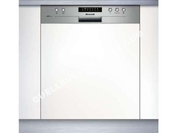 lave vaisselle brandt lave vaisselle int grable 13 couverts vh1505x au meille. Black Bedroom Furniture Sets. Home Design Ideas