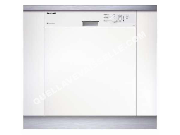 Lave vaisselle brandt lave vaisselle int grable 47db vh 12 w coloris bla au m - Le meilleur lave vaisselle ...