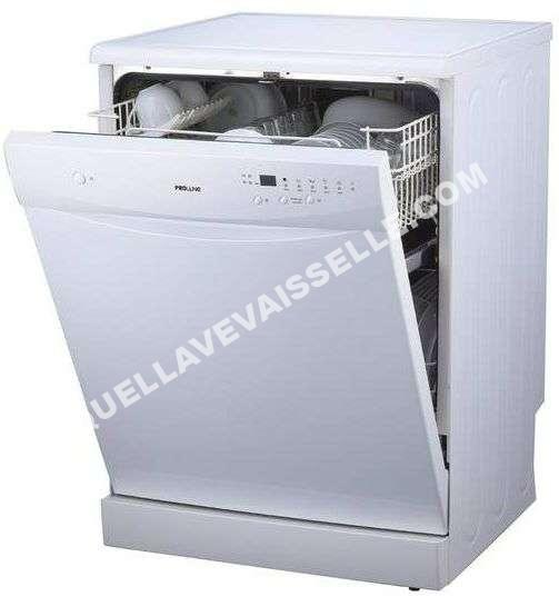 lave vaisselle proline fdp12649w au meilleur prix. Black Bedroom Furniture Sets. Home Design Ideas