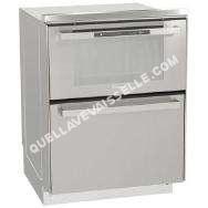 Lave vaisselle<br/> avec table de cuisson Lave vaisselle + Four électrique DUO 609X 6 couverts, 60 cm, 45 dB, Pose libre